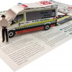 St John's Ambulance Volunteer
