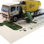 ACT Recycling Truck -2
